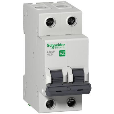 Автоматичний вимикач EASY 9 2П 16А 4,5 ка характеристика