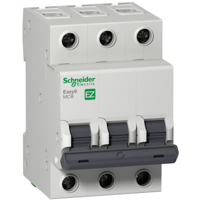 Автоматичний выключатель EASY 9 3П 50А 4,5 ка характеристика