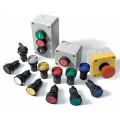 Кнопки, перемикачі, світлосигнальна арматура