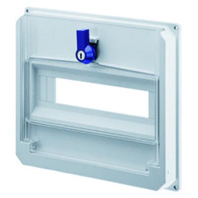 Щитова панель з прозорими дверцятами колір - Білий