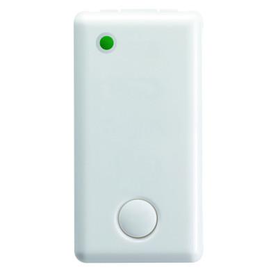 1P 1Н.З./Н.В. 12V 1 модуль колір - Білий серія - System колір - White