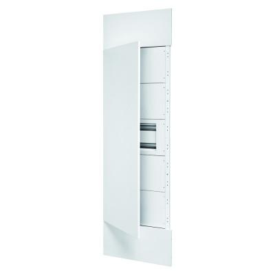 Domo Center Лицьова панель двері металеві 1 секція на 40 модулів  колір - Білий (RAL9003)