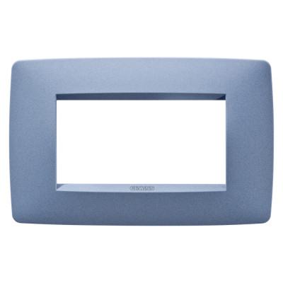 Рамка  ONE фарбований технополімер 4 модулі колір - Морський синій Серія Chorus
