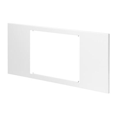 Domo Center Панель з вікнами з металу  для відеодомофона колір - Білий (RAL9003)