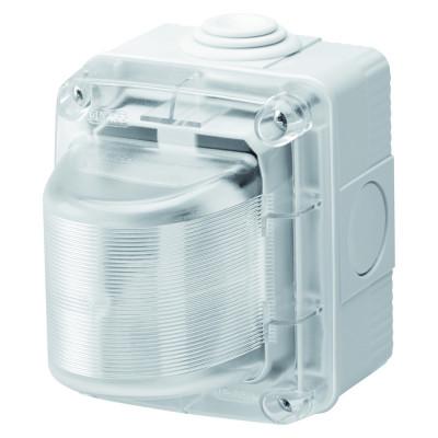 індикаторні лампи  230V прозорий розсіювач  колір Сірий (RAL7035)