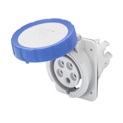 10° кутова утоплювана розетка HP   колір блакитний  Швидке підключення