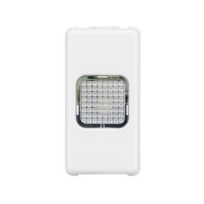 230V 50/60Гц 1 модуль System колір - Білий