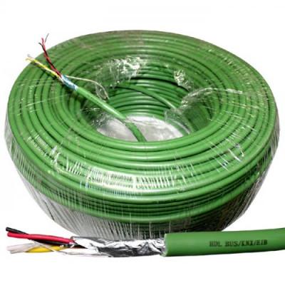 KNX-кабель 2х2х0.8 зелений, рулон 500м