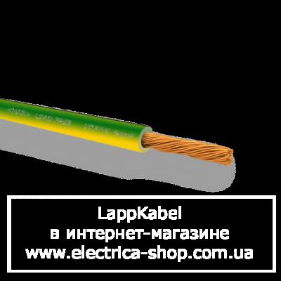 Провід 1X6мм² H07V-K GNYE жовто-зелений
