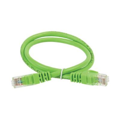 ITK Комутаційний шнур (патч-корд), кат.5Е UTP, 1м, зелений