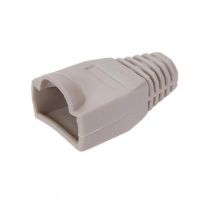 ITK Ковпачок ізолюючий для роз`єму RJ-45, PVC, сірий