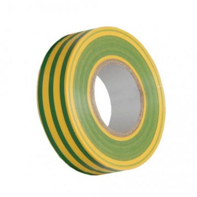Ізострічка ПВХ (0,13х15 мм) жовто-зелена 20 метрів IEK, UIZ-13-10-K52