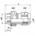 Гермоввід для кабелю SKINTOP CLICK 20 RAL 9005 BK