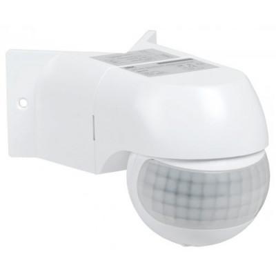 Датчик движения ДД 016 800Вт, 180°, 12м, IP44 IEK белый