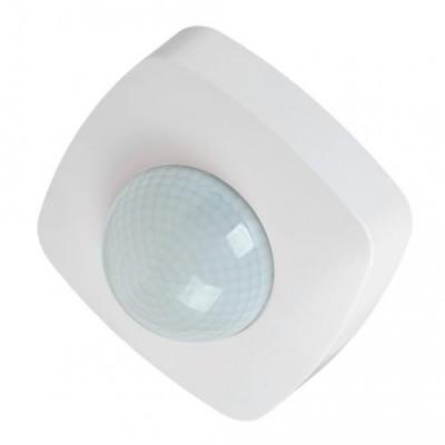 Датчик движения ДД 023 2000 Вт, 360°, 20м, IP20 IEK белый