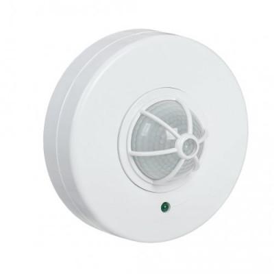 Датчик движения ДД 024 1100Вт, 120-360°, 6м, IP33 IEK белый