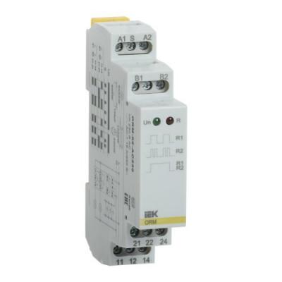 Імпульсне реле ORM. 1 конт. 12-240 В AC/DC IEK