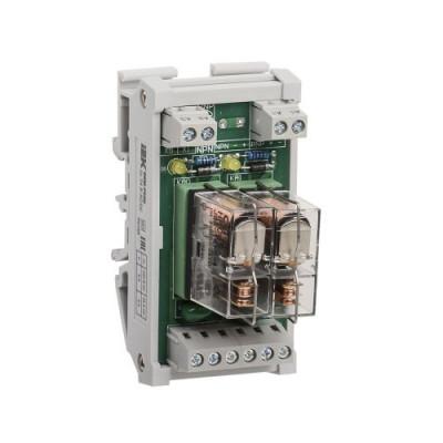 Інтерфейсне реле ORM 5 2 конт. група 24 В DC/AC IEK
