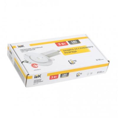 Светильник аварийный ДПА-130, аккумулятор, 3ч, IP20, IEK LDPA0-130-1-3-K01