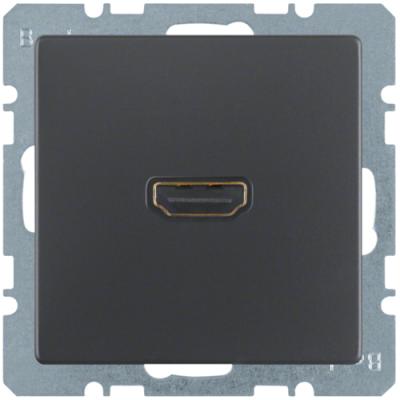 HDMI-розетка, антрацит, Q.1/Q.3 3315426086