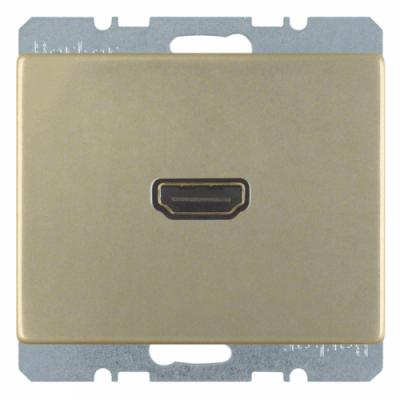 HDMI-розетка, бронза «Arsys» 3315429011