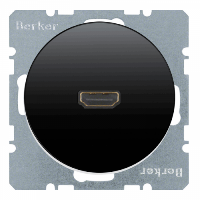 HDMI-розетка, чорна, «R.1» ,«R.3» 3315422045