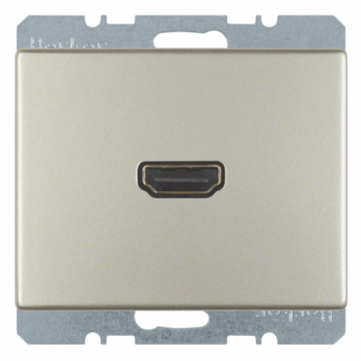 HDMI-розетка, нержавіюча сталь «Arsys» 3315429004