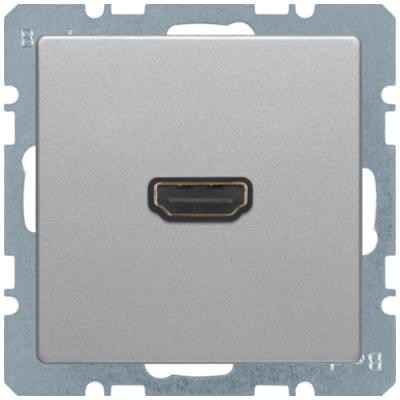 HDMI-розетка, підключення ззаду під кутом 90 град., алюміній, «Q.1»/«Q.3»/«Q7» 3315436084