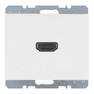 HDMI-розетка, полярна білизна, «K.1» 3315427009