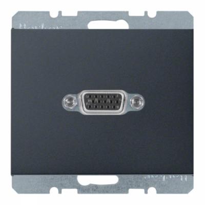 VGA-розетка, антрацит, K.1 (3315407006)