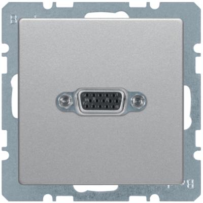 VGA-розетка з гвинтовими клемами, алюміній, «Q.1»/«Q.3»/«Q7» 3315416084