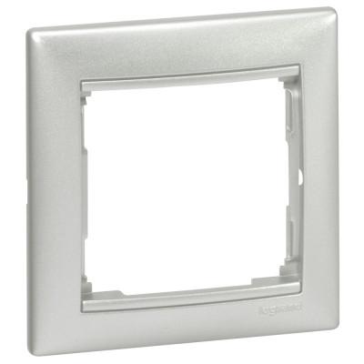 Legrand Valena Рамка 1-я 770151 алюминий