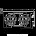 Valena LIFE Перемикач 2-клавішний, автоматичні клеми, слонова кістка