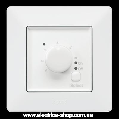Valena LIFE Термостат теплої підлоги 16А 250В, гвинтові клеми Білий