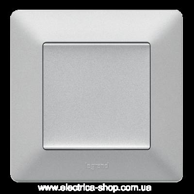 Valena LIFE Вимикач 10АХ 250В, автоматичні клеми, алюміній