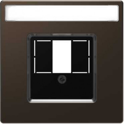 Накладка для TAE Merten SD MTN4250-4015 коричневый