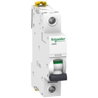Автоматичний вимикач iC60N 1P 63A тип C
