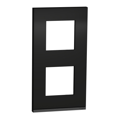 2 постовая рамка вертикальная Unica Pure каучук NU6004V82