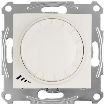 LED димер поворотно-натискний 4-400Вт SEDNA слонова кістка SDN2201223