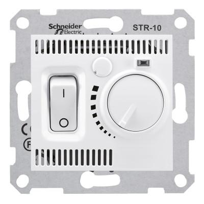 Термостат тёплого пола SEDNA белый SDN6000321