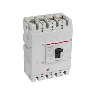 Автоматичний вимикач 36кА, 4п 630 А Legrand DRX630 027241