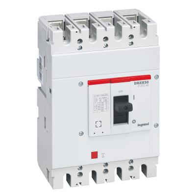 Автоматичний вимикач 50кА, 4п 630 А Legrand DRX630 027249