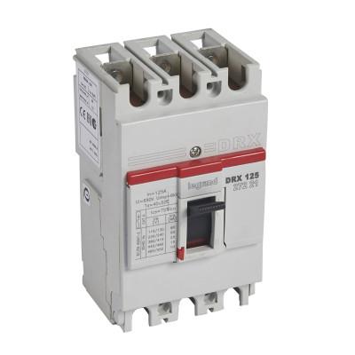 Автоматичний вимикач DRX125, 3п 125 А Legrand 027221