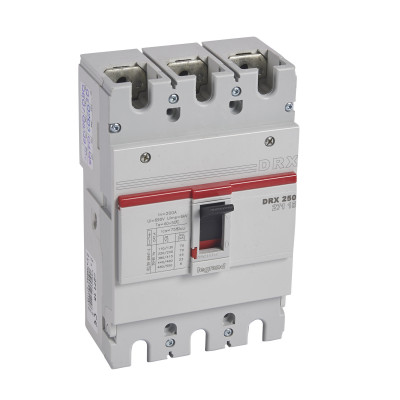 Автоматичний вимикач DRX250, 25кА, 3п 200 А Legrand 027115