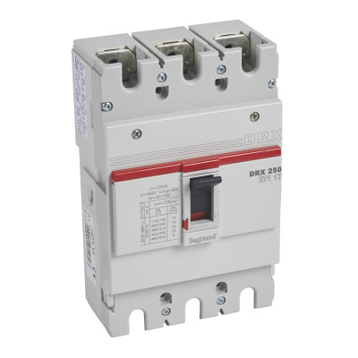 Автоматичний вимикач DRX250, 25кА, 3п 250 А Legrand 027117