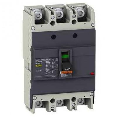 Автоматический выключатель EasyPact 3-п 160А 15kA 400V 3P/3T  EZC250N3160