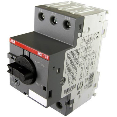 Автомат захисту двигуна 3-п Abb MS116-10,0А
