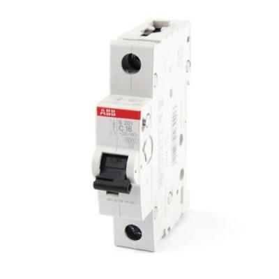 Автоматичний вимикач 1-фазний, Abb S201 «System pro M compact®» 6 Ампер, тип «C»