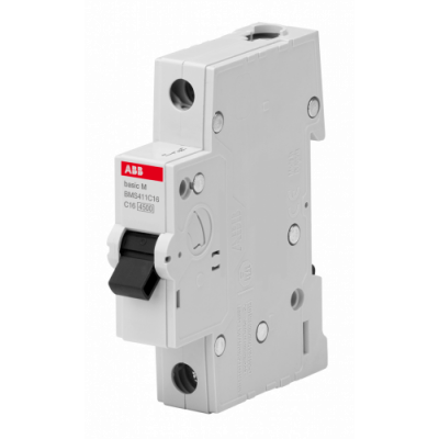 Автоматичний вимикач Abb Basic M, 1p, 63А,