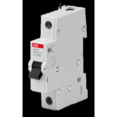 Автоматичний вимикач Abb Basic M, 1p, 6А,